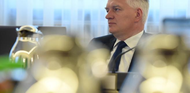 Wicepremier minister nauki Jarosław Gowin