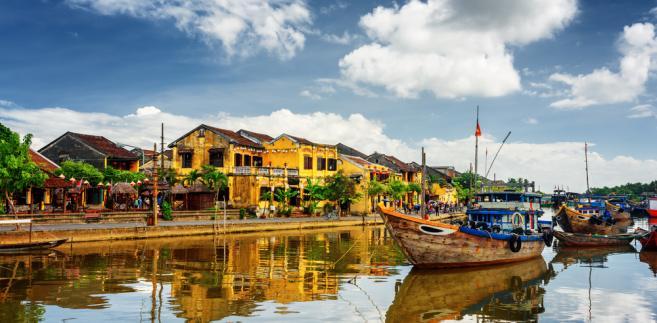 Miasto Hoi An w Wietnamie