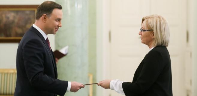 Prezydent Andrzej Duda powołał sędzię Julię Przyłębską na prezesa Trybunału Konstytucyjnego.