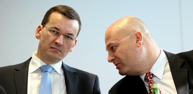 Mateusz Morawiecki i Witold Słowik