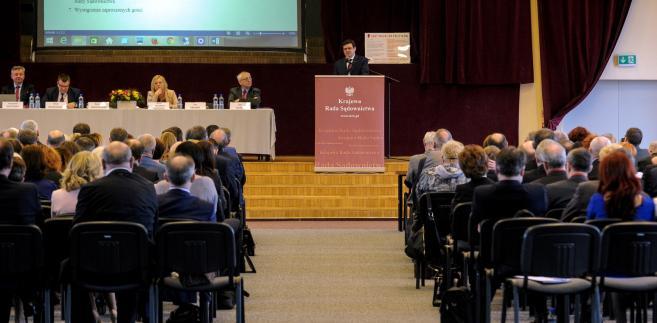 Zebranie sędziów w Warszawie
