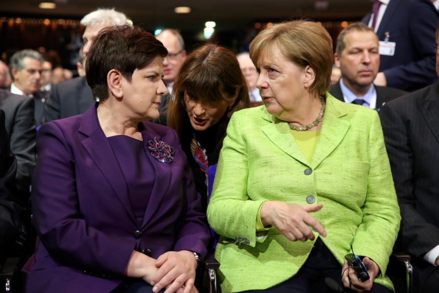 Szydło i Merkel
