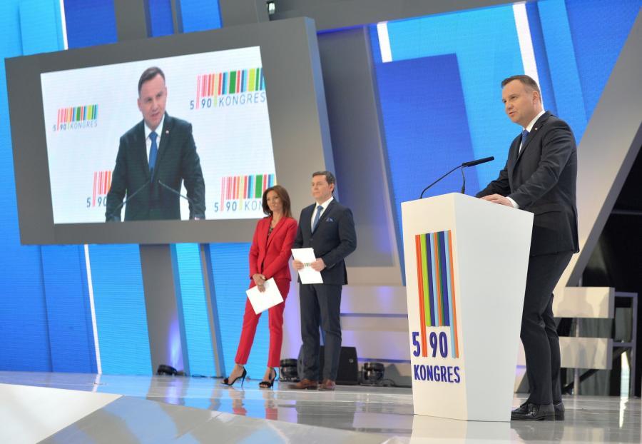 Kongres 590 Andrzej Duda