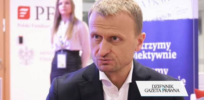 Prezes Grupy Lotos, Marcin Jastrzębski.