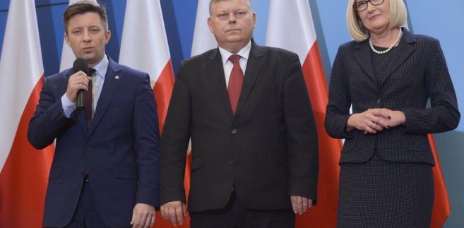 Michał Dworczyk, Marek Suski, Joanna Kopcińska