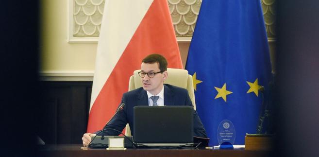 Premier wygłosił w czwartek telewizyjne oświadczenie na temat nowelizacji ustawy o IPN. Mówił w nim m.in., że Polska była pierwszą ofiarą III Rzeszy