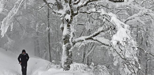 Opady śniegu we Włoszech