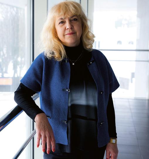 Ewa Tatarczak, przewodnicząca Związku Zawodowego Rady Poradnictwa