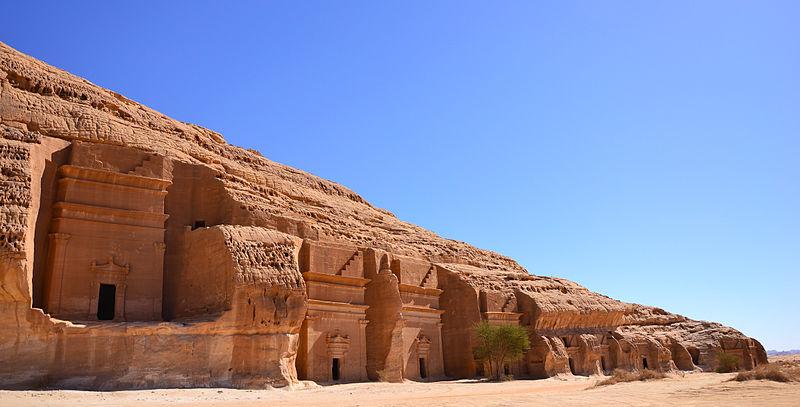 Mada'in Salih w Arabii Saudyjskiej