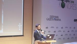 Maciej Kawecki dyrektor departamentu zarządzania danymi w Ministerstwie Cyfryzacji, koordynator prac nad reformą ochrony danych osobowych