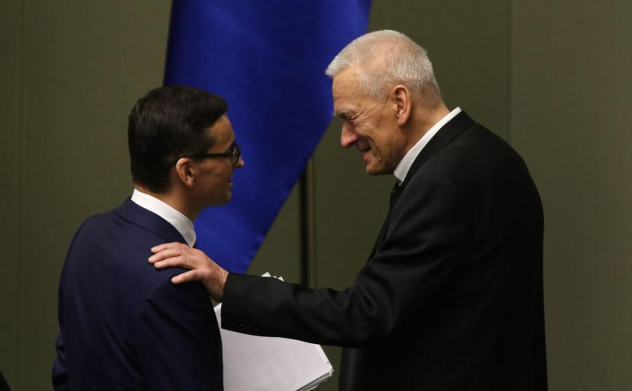 Mateusz Morawiecki i Kornel Morawiecki
