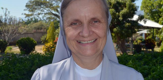 Siostra Joanna Maria Goik Timor Wschodni, fot. Dariusz Golik