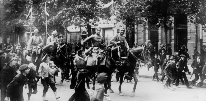 Warszawa, I wojna światowa, Niemcy