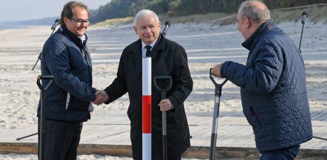 """Jak cenił Kaczyński """"jest to akcja polityczna"""". """"Na tle tego co robią Rosjanie z Niemcami, słynnego gazociągu Nord Stream 1 i Nord Stream 2 to jest przedsięwzięcie w najwyższym stopniu proekologiczne, bo tamte są antyekologiczne""""- mówił."""