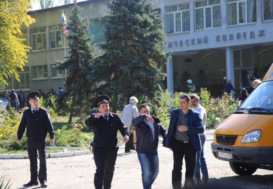 Krym Atak i wybuch ładunku w szkole