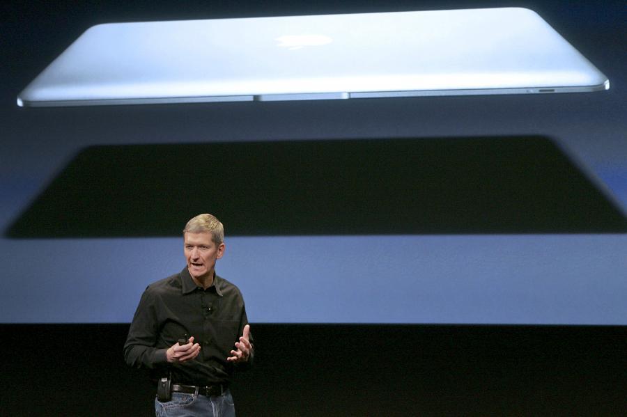 Tim Cook. Fot. Tony Avelar/Bloomberg