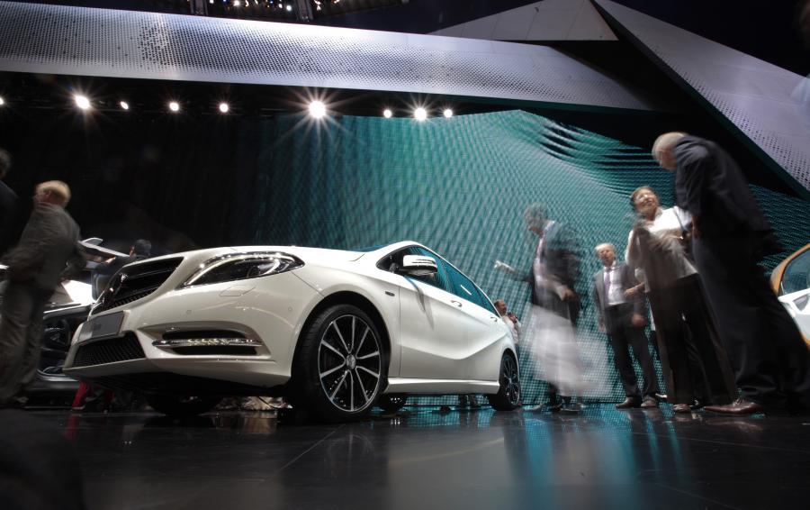 Mercedes-Benzs nowa klasa B