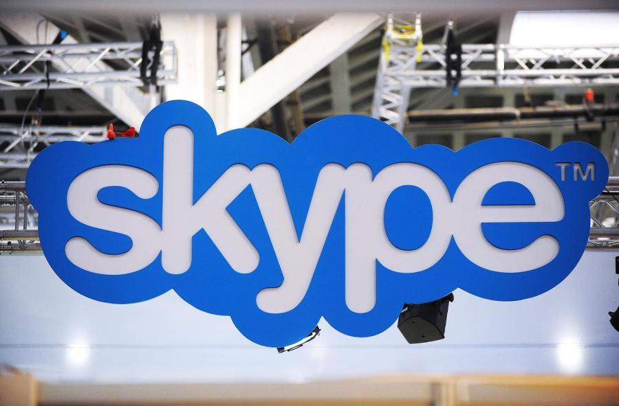 Logo Skype'a.