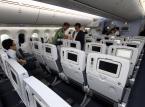 Wnętrze japońskiego Boeinga 787, należącego do linii lotniczych ANA