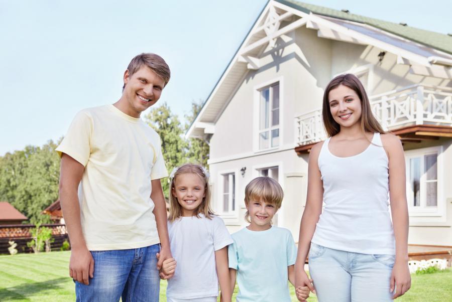 nieruchomość, nieruchomości, dom, rodzina, rodzina na swoim