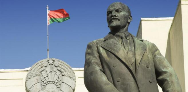 Lenin na Białorusi wiecznie żywy