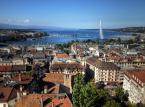 <b>Miejsce 9. Szwajcaria-dochód na osobę:$41,950 </b><br /> Na zdjęciu panorama Genewy