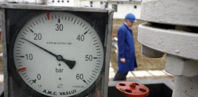 Ciśnieniomierz na magistrali gazowej