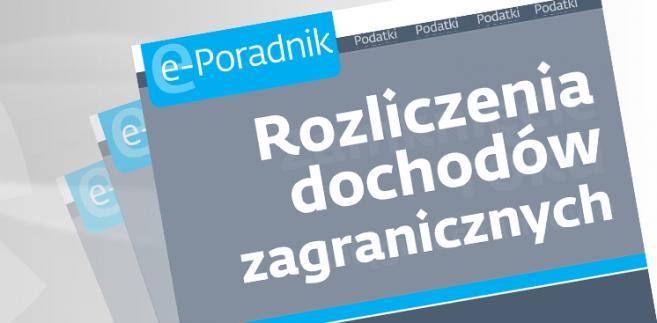 e-book: Rozliczenia dochodów zagranicznych