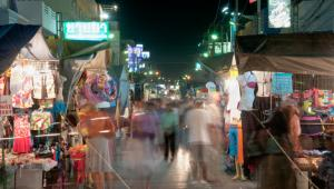 Nocny targ w Hua Hin